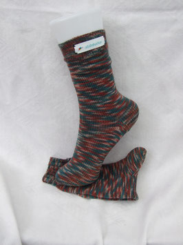 Kinder-Stricksocken Kuddelmuddel