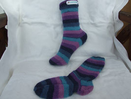 "Kinder-Stricksocken ""Stripes"""