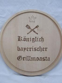 Brotzeitbrettl Königlich bayerischer Grillmoasta