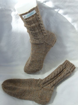 Kindertrachtenstricksocken