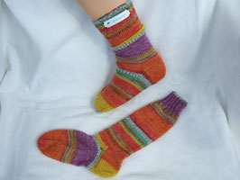 "Kinder-Stricksocken ""Inka"""