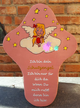 Schutzengel-Kreuz für Mädchen