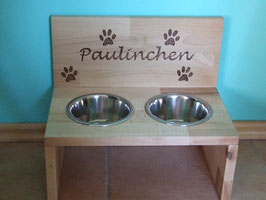Futterbar für mittelgroße Hunde