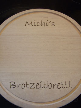 Brotzeitbrettl mit Namen