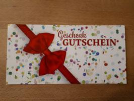 Geschenkgutschein € 15,00