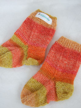 "Kinder-Stricksocken ""Sunset"""