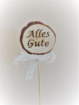 """Cake-Topper """"Alles Gute"""""""