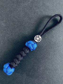 Thin Blue Line Schlüsselanhänger - Patrone