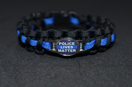 Paracord Armband - Police Lives Matter