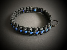 Hundehalsband - Thin Blue Line Small