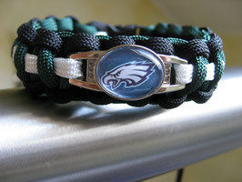 Paracord Armband - Philadelphia Eagles -