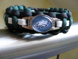Paracord Armband - Philadelphia Eagles -