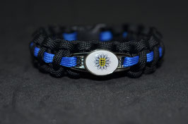 Paracord Armband Thin Blue - Baden Württemberg