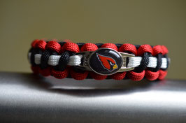 Paracord Armband Arizona Cardinals