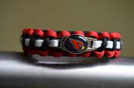 Paracord Armband Arizona Cardinals