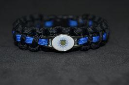 Paracord Armband Thin Blue - Sachsen