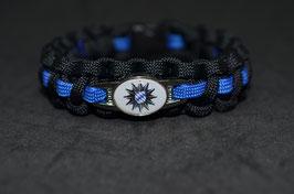 Paracord Armband Thin Blue - Bayern