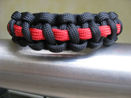 Armband - Firefighter thin RED