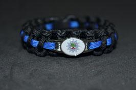 Paracord Armband Thin Blue - Sachsen-Anhalt