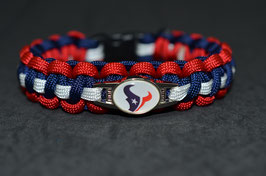 Paracord Armband Houston Texans