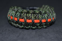 Paracord Armband - King Cobra Multi Camo