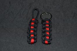 Firefighter Schlüsselanhänger - Thin red
