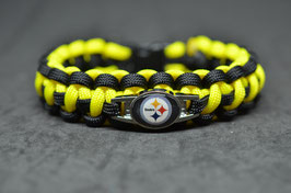 Paracord Armband - Pittsburgh Steelers -