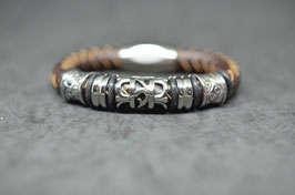 Lederarmband  - brown #4