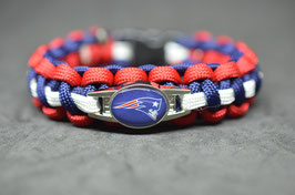 Paracord Armband - New England Patriots -