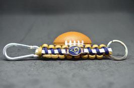 Paracord Armband L.A. Rams