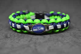 Paracord Armband - Seattle Seahawks -