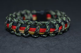 Paracord Armband -  Camouflage Typ 1