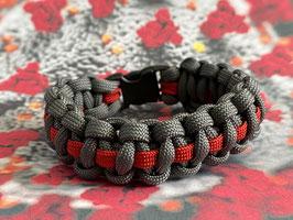Paracord Armband Corona Thin Line