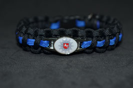 Paracord Armband Thin Blue - Niedersachsen