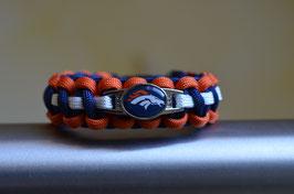 Paracord Armband - Denver Broncos -