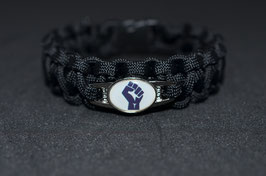 Paracord Armband - Black Lives Matter 2