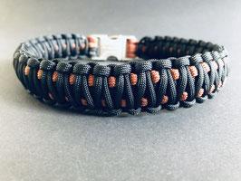Paracord Hundehalsband - Rust