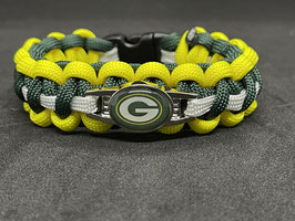 Paracord Armband - Greenbay Packers -