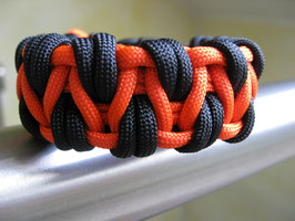 Paracord Armband - Caged Solomon - Double