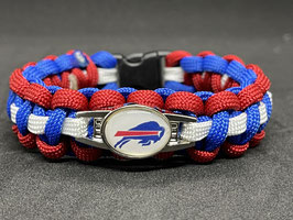 Paracord Armband - Buffalo Bills