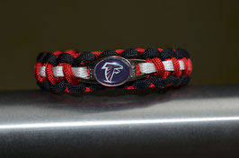 Paracord Armband - Atlanta Falcons