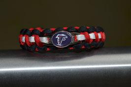 Paracord Armband - Atlanta Falcons