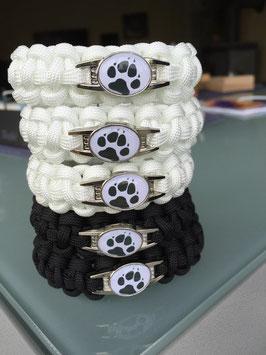 Paracord Armband -Pfote Hund