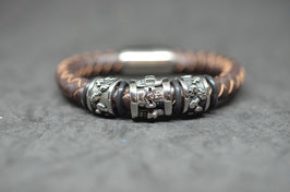 Lederarmband  - brown #3