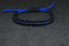 Paracord Armband - Cops Ultra small