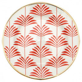 Plate Maxime coral