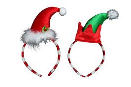 Weihnachts Haarreifen Zipfelmütze