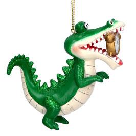 Baumhänger Krokodil