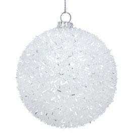 Weihnachtskugel Glitter