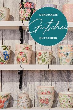 DEKOMAGIE Gutschein KARTE